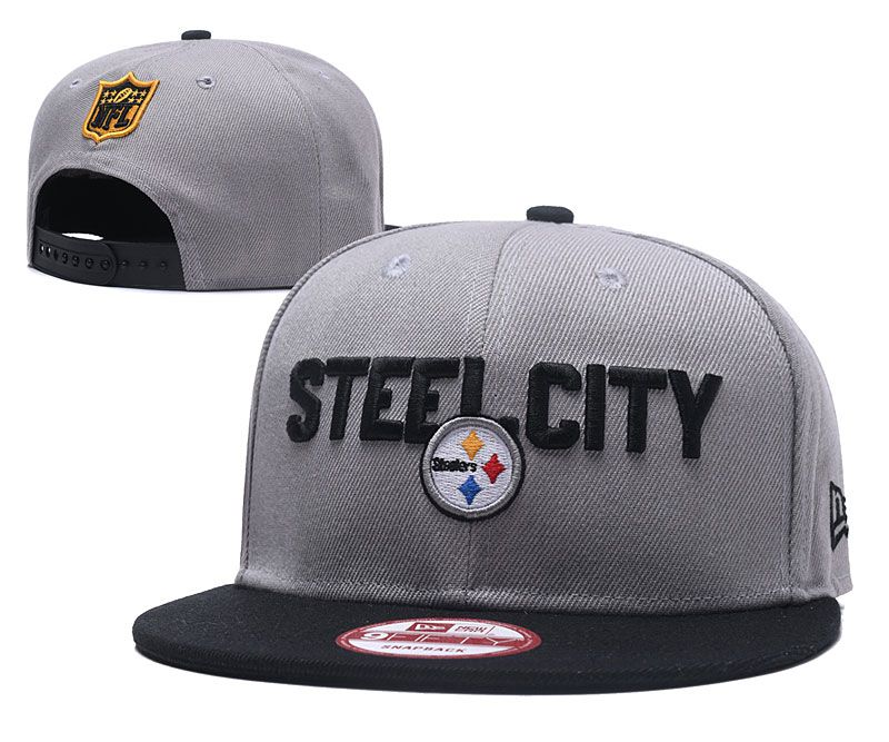 2018 NFL Pittsburgh Steelers Snapback hat 0517