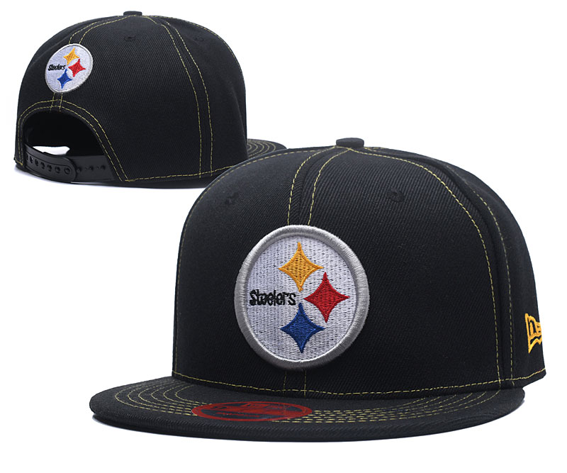 2018 NFL Pittsburgh Steelers Snapback hat LT0505