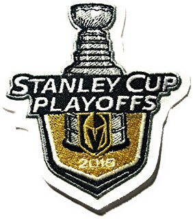 2018 stanley cup playoffs patch golden knights puck style stanley cup las vegaspre