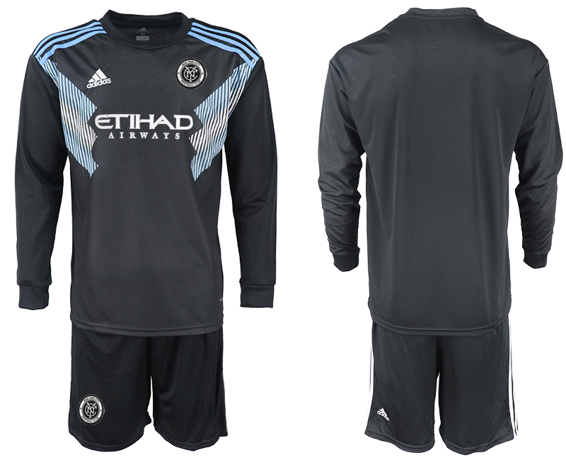 2018-2019 Club Men New York City away long sleeve soccer jersey