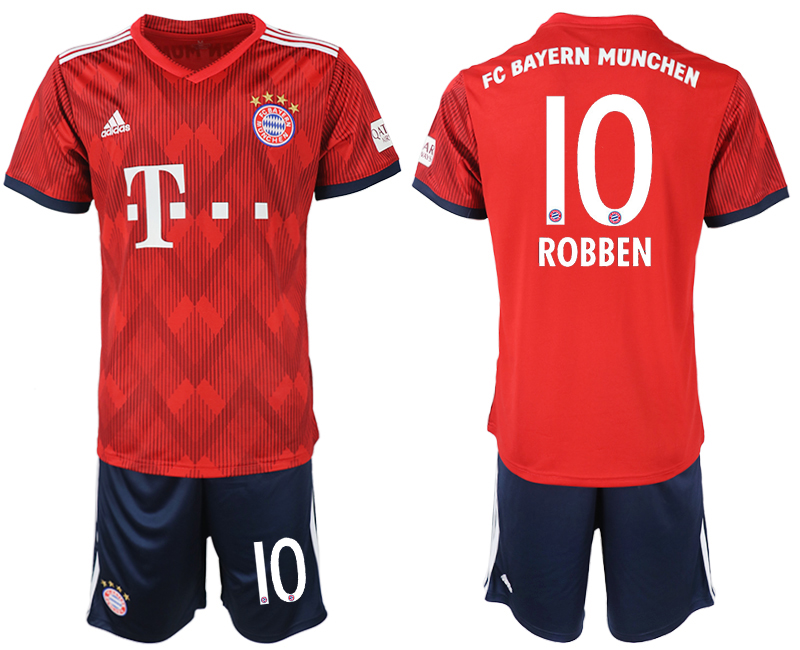 2018-2019 Men club Bayern Munich home 10 soccer jersey