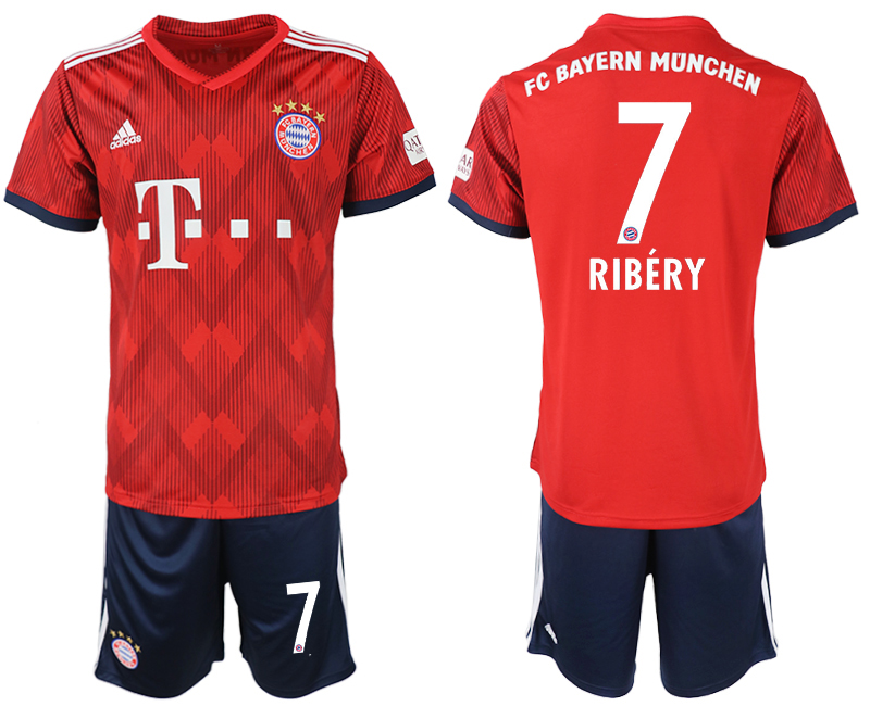2018-2019 Men club Bayern Munich home 7 soccer jersey