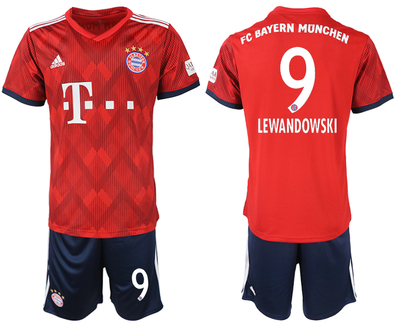 2018-2019 Men club Bayern Munich home 9 soccer jersey