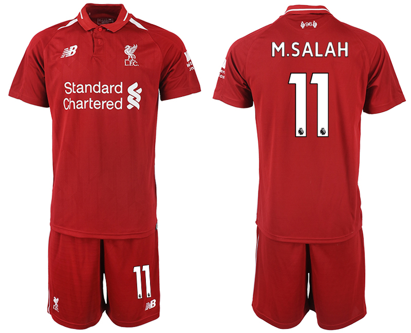 2018-2019 Men club Liverpool home 11 soccer jersey