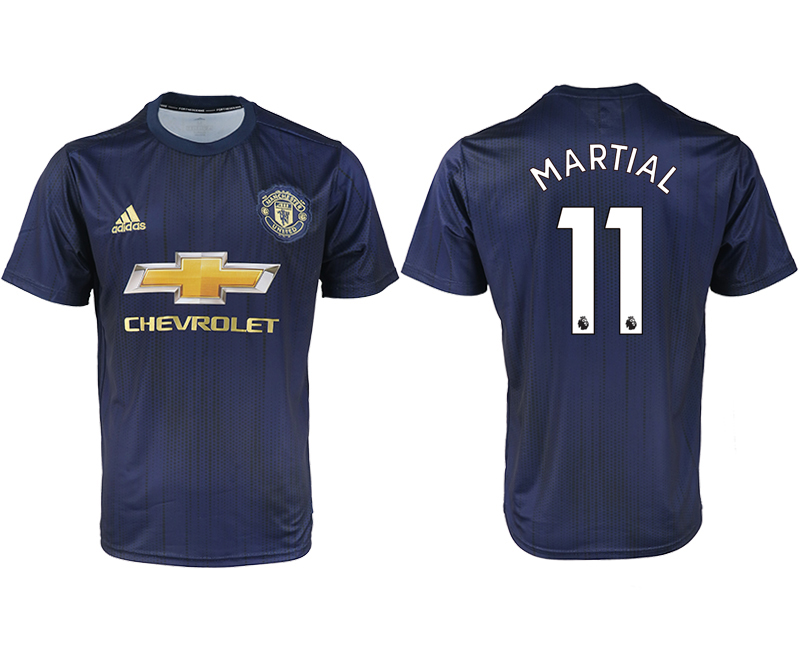 2018-2019 Men club Manchester united away aaa version 11 soccer jersey
