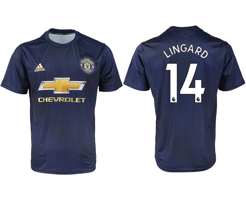 2018-2019 Men club Manchester united away aaa version 14 soccer jersey
