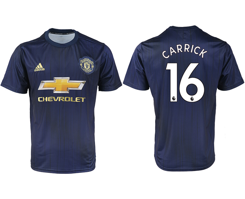 2018-2019 Men club Manchester united away aaa version 16 soccer jersey