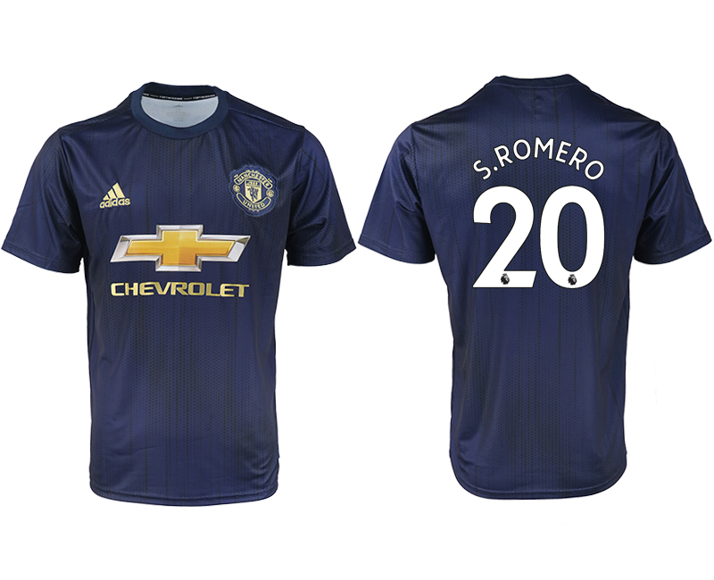 2018-2019 Men club Manchester united away aaa version 20 soccer jersey