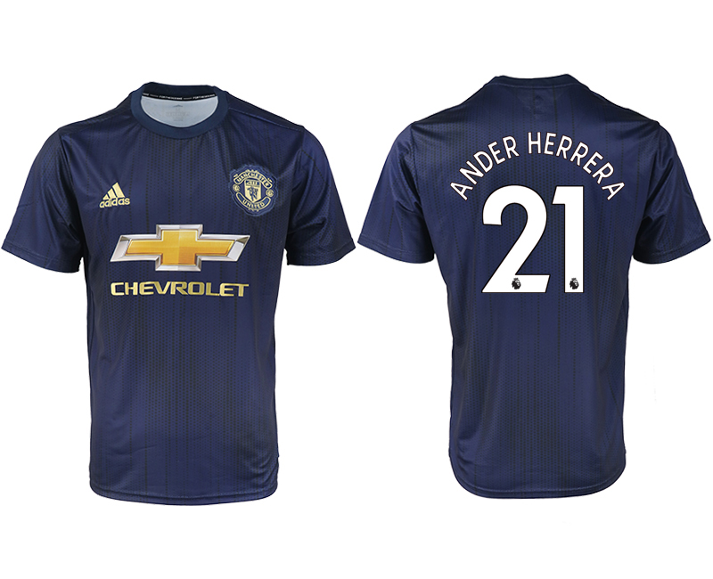 2018-2019 Men club Manchester united away aaa version 21 soccer jersey