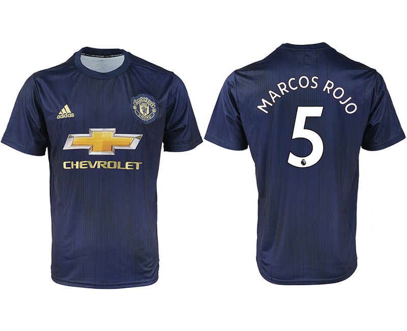 2018-2019 Men club Manchester united away aaa version 5 soccer jersey