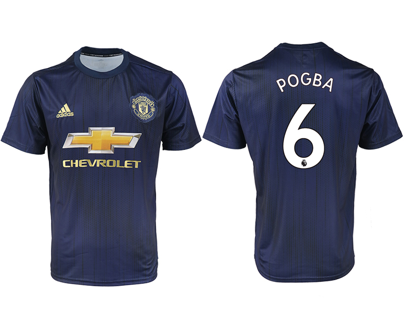 2018-2019 Men club Manchester united away aaa version 6 soccer jersey