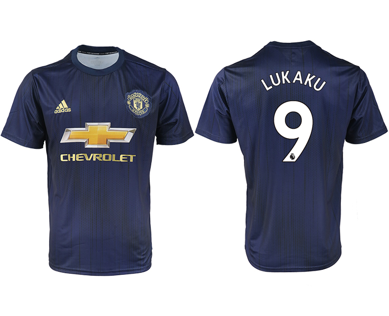 2018-2019 Men club Manchester united away aaa version 9 soccer jersey