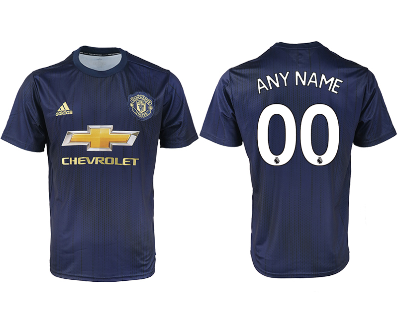 2018-2019 Men club Manchester united away aaa version customized soccer jersey