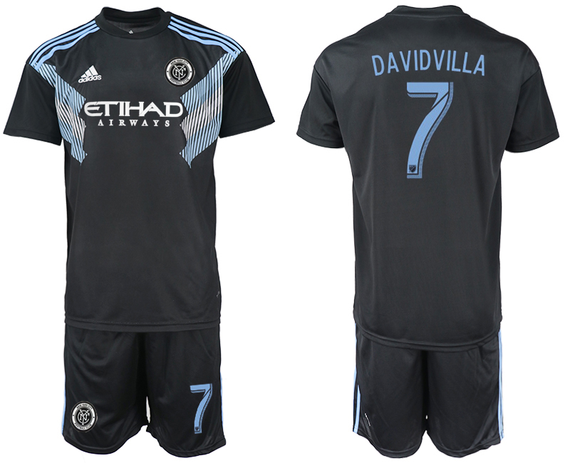 2018-2019 Men club New York City away 7 soccer jersey