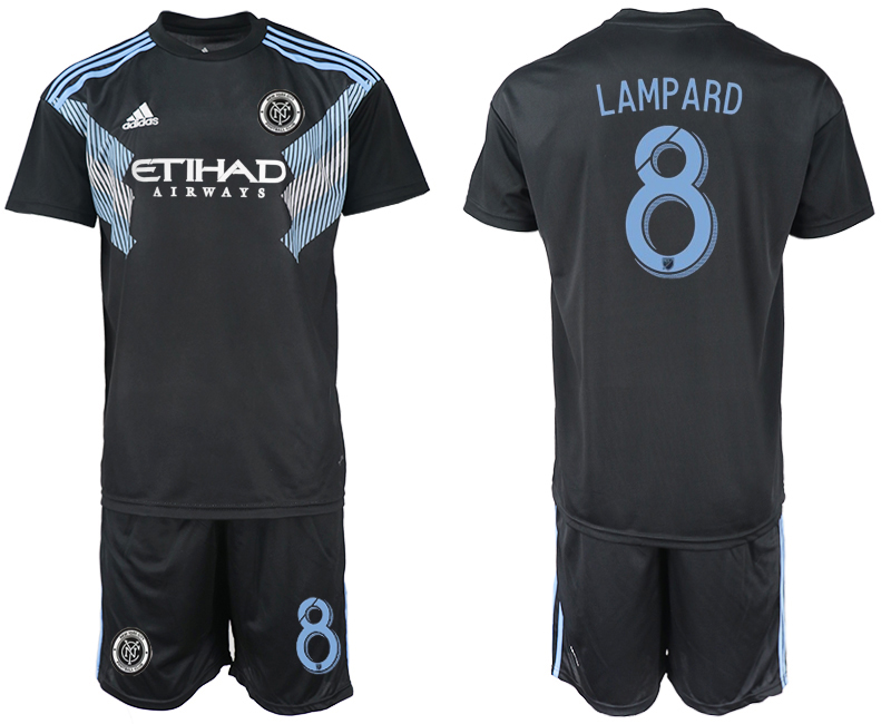 2018-2019 Men club New York City away 8 soccer jersey