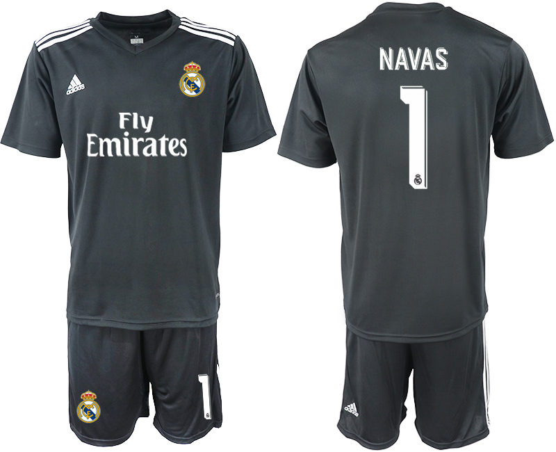 2018-2019 Men club Real Madrid away 1 soccer jersey
