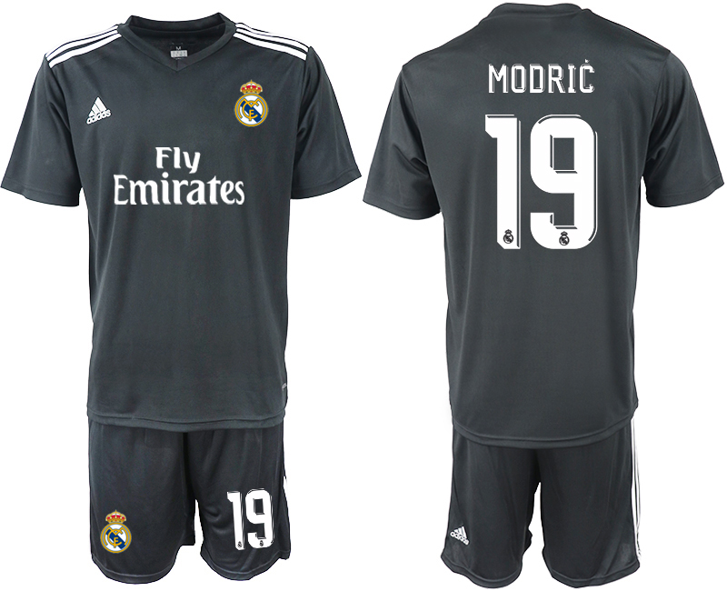 2018-2019 Men club Real Madrid away 19 soccer jersey