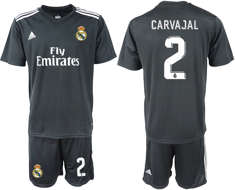 2018-2019 Men club Real Madrid away 2 soccer jersey