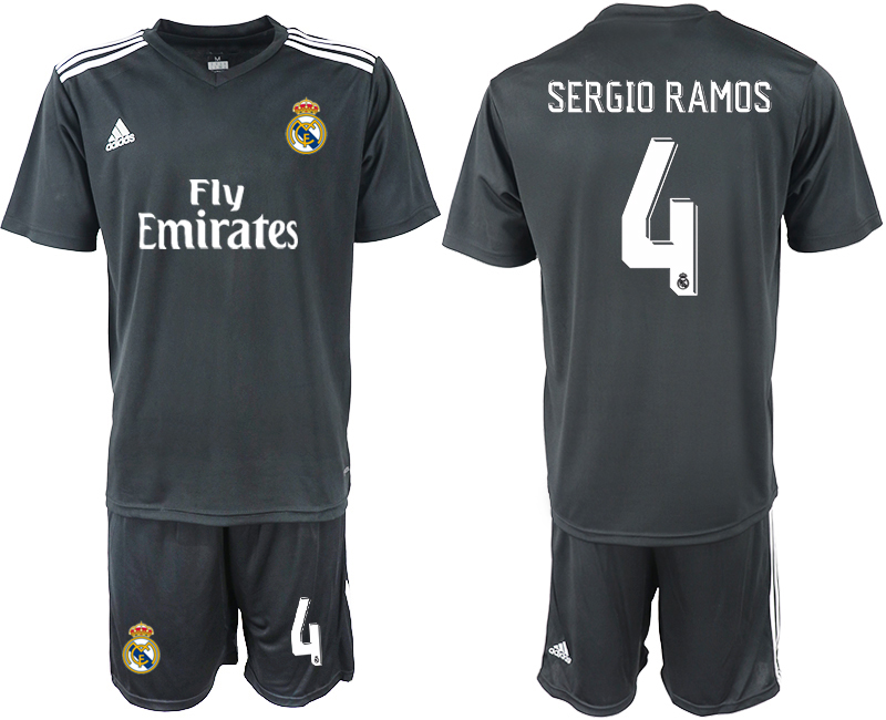 2018-2019 Men club Real Madrid away 4 soccer jersey
