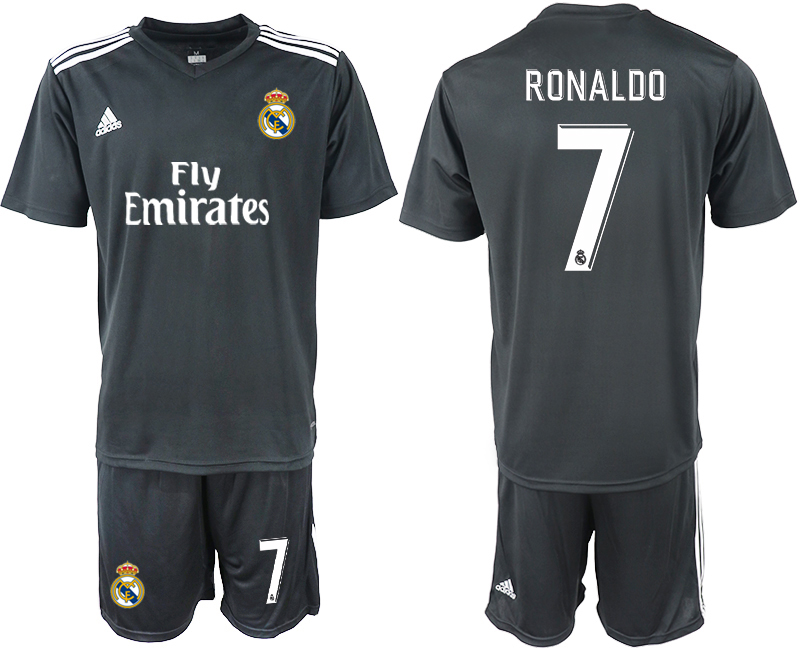 2018-2019 Men club Real Madrid away 7 soccer jersey