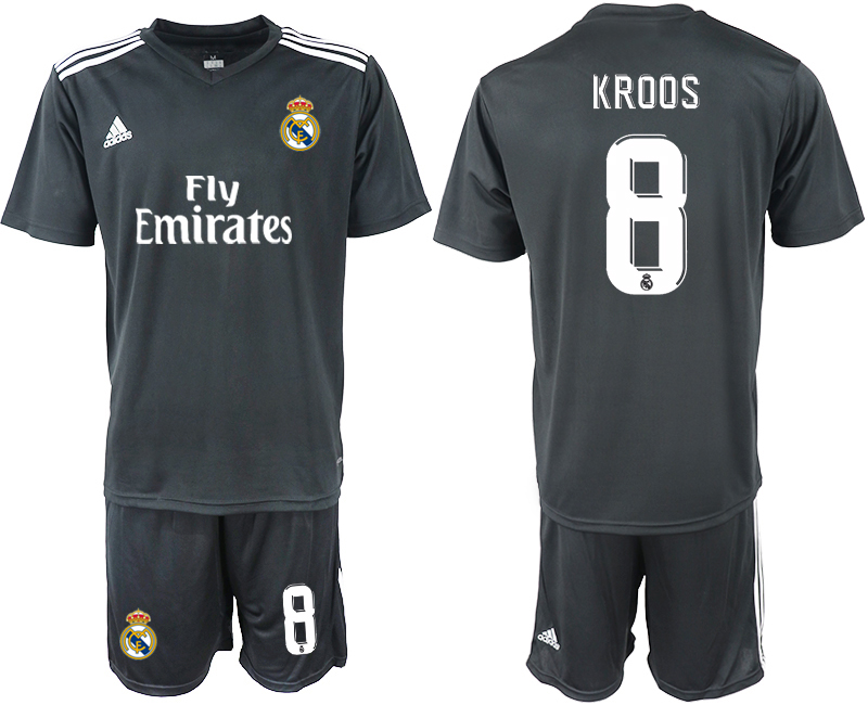 2018-2019 Men club Real Madrid away 8 soccer jersey