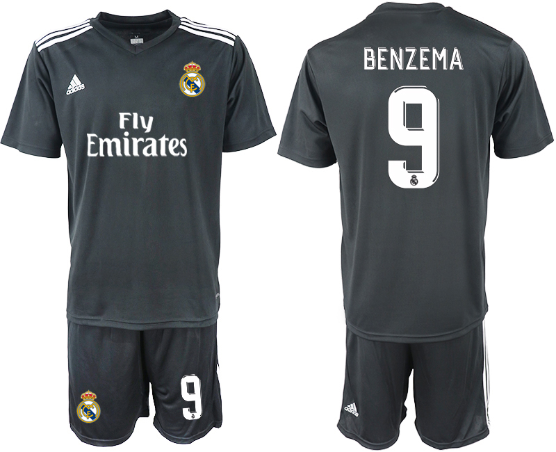 2018-2019 Men club Real Madrid away 9 soccer jersey
