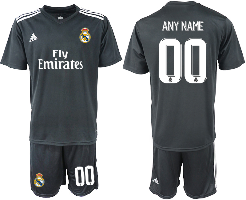 2018-2019 Men club Real Madrid away any name soccer jersey