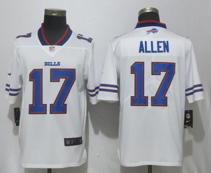 Men Buffalo Bills 17 Allen White Vapor Untouchable Limited Playe NFL Jerseys
