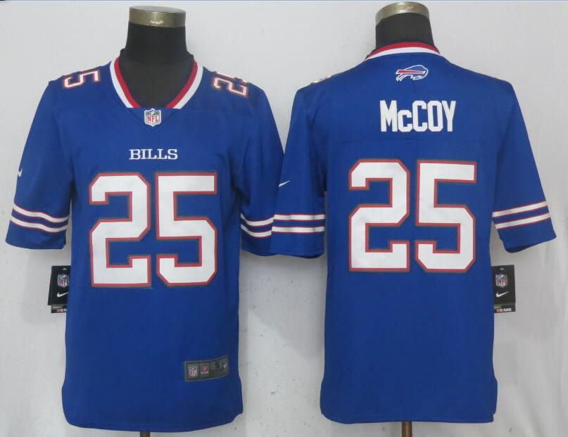 Men Buffalo Bills 25 McCoy Blue Vapor Untouchable Limited Player Nike NFL Jerseys