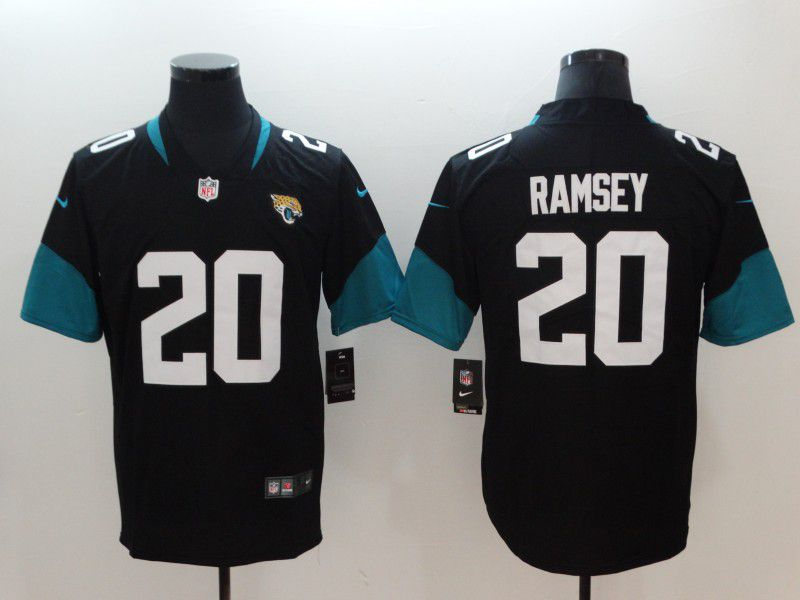 Men Jacksonville Jaguars 20 Ramsey Black Vapor Untouchable Limited Player Nike NFL Jerseys