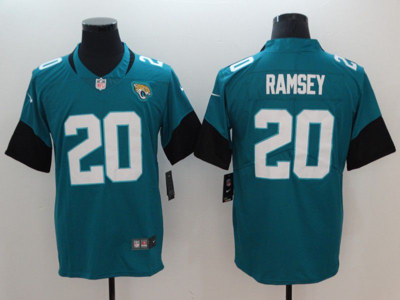 Men Jacksonville Jaguars 20 Ramsey Green Vapor Untouchable Limited Player Nike NFL Jerseys