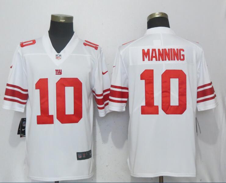 d7b026fba Men New York Giants 10 Manning White Nike Vapor Untouchable Limited Playe NFL  Jerseys