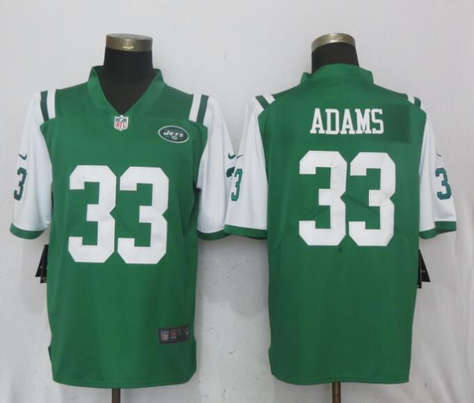 Men New York Jets 33 Adams Green Vapor Untouchable Limited Player Nike NFL Jerseys