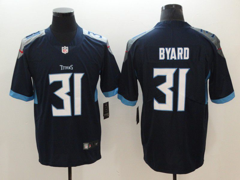 Men Tennessee Titans 31 Byard Dark Blue Nike Vapor Untouchable Limited NFL Jerseys
