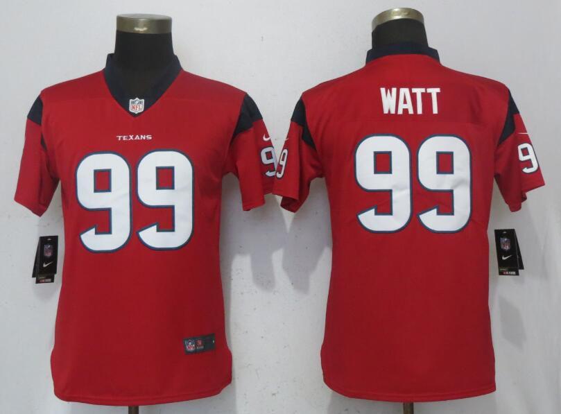 ... good women houston texans 99 watt red nike vapor untouchable playe nfl  jerseys a9205 e2f98 ... e120bf825