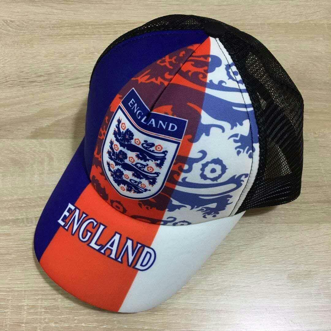 2018 Men England football hat soccer jersey