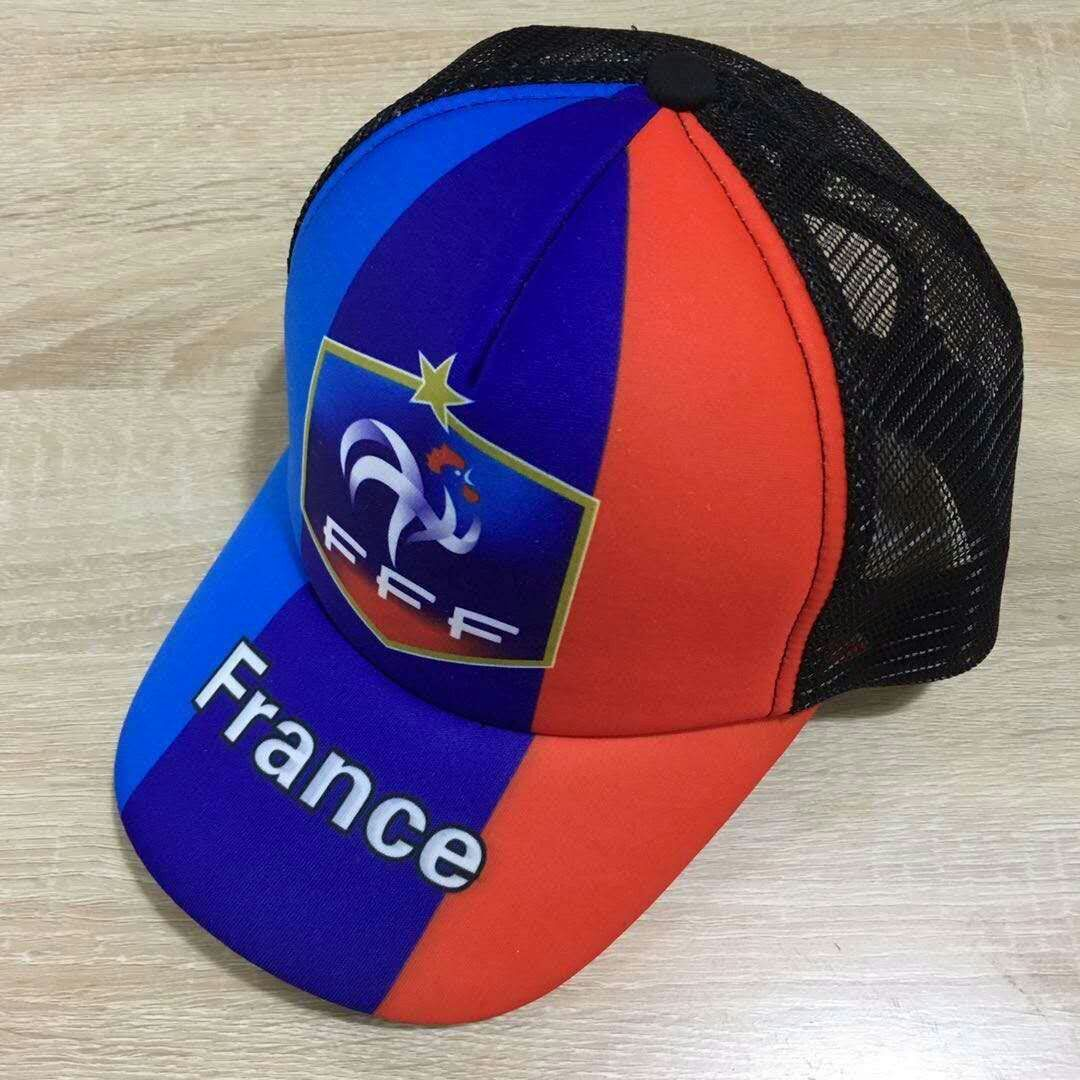 2018 Men France football hat soccer jersey