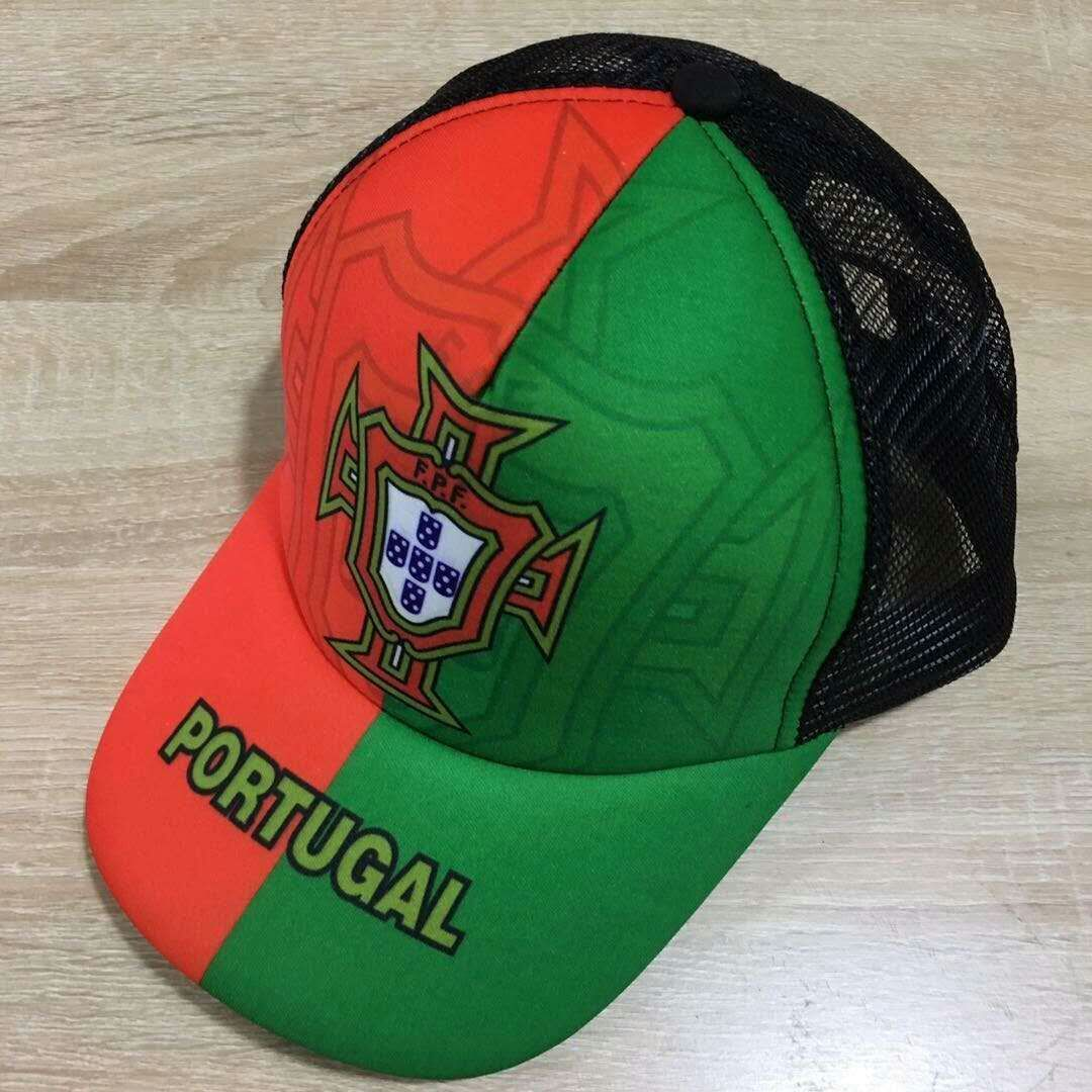 2018 Men Portugal football hat soccer jersey