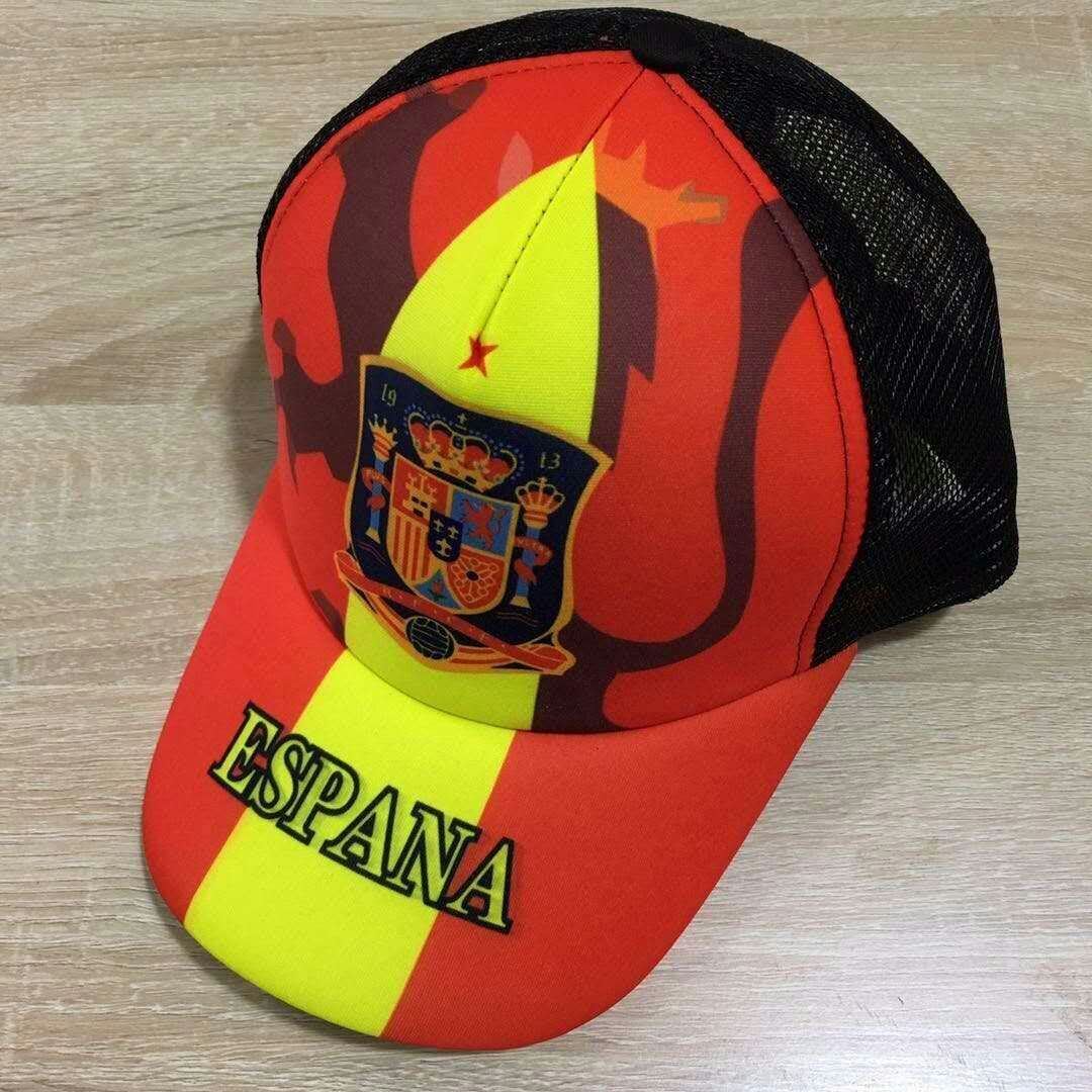 2018 Men Spain football hat soccer jersey