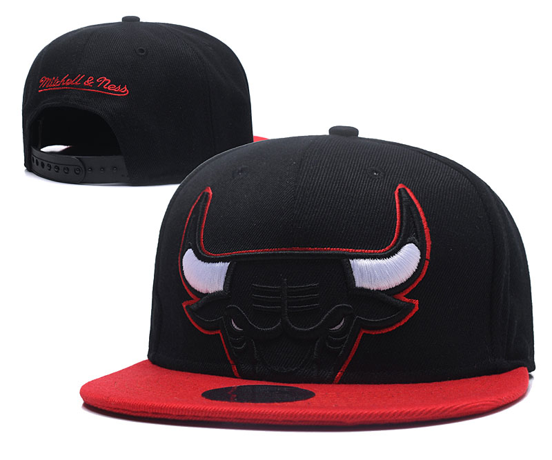 2018 NBA Chicago Bulls Snapback hat GSMY0604