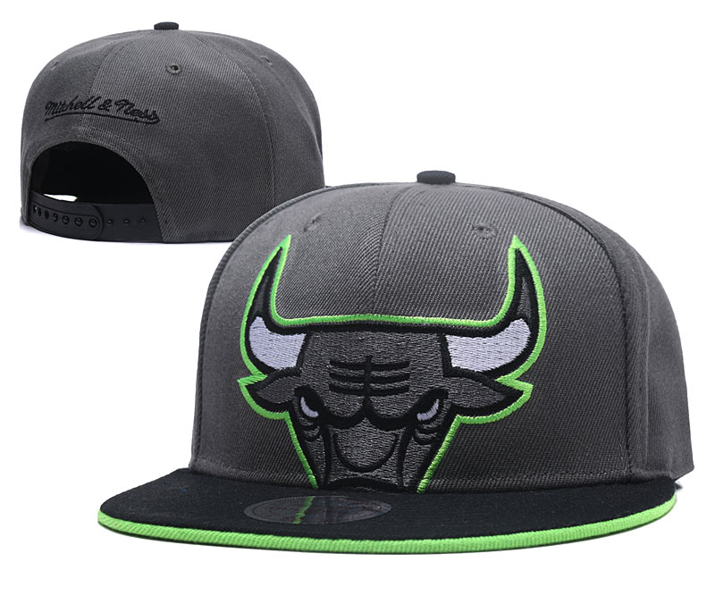 2018 NBA Chicago Bulls Snapback hat GSMY06041