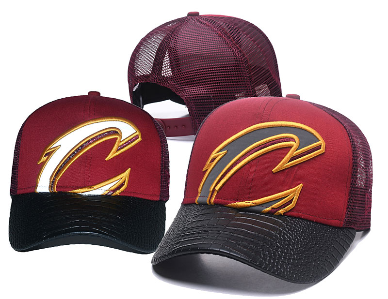 2018 NBA Cleveland Cavaliers Snapback hat GSMY0604
