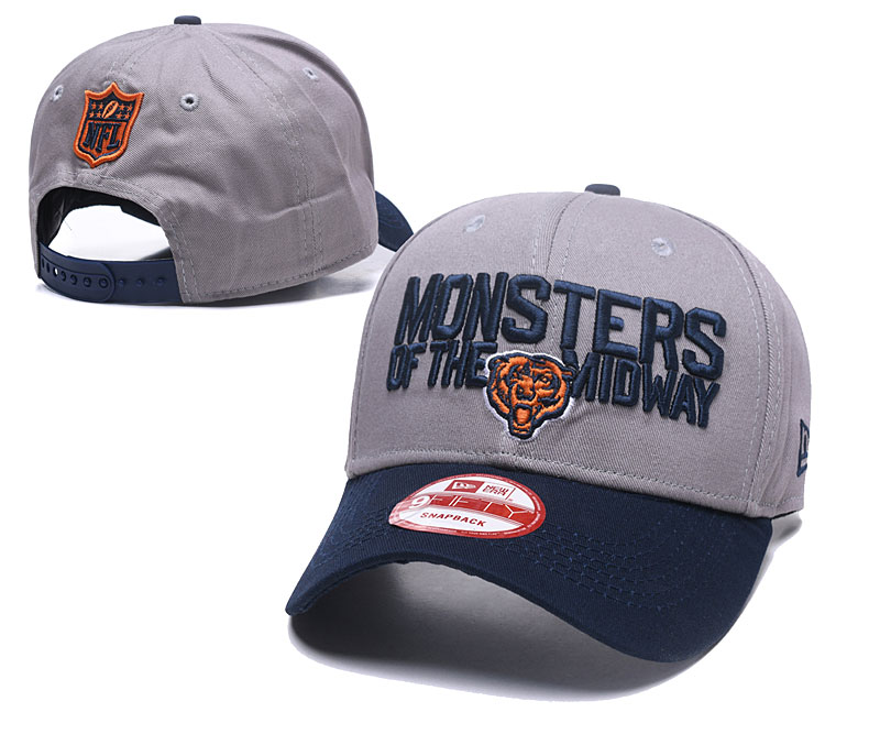 2018 NFL Chicago Bears Snapback hat GSMY06041