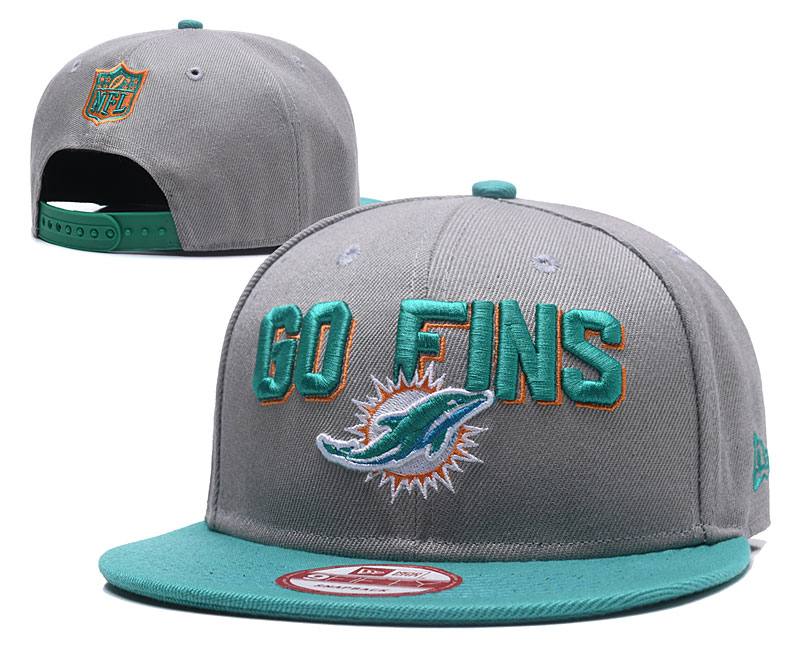 2018 NFL Miami Dolphins Snapback hat GSMY0604