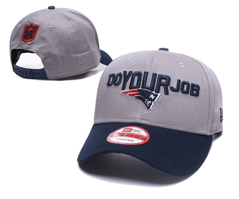 2018 NFL New England Patriots Snapback hat GSMY06041