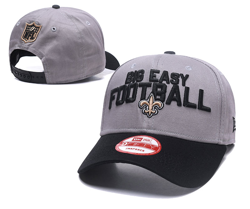 2018 NFL New Orleans Saints Snapback hat GSMY06041