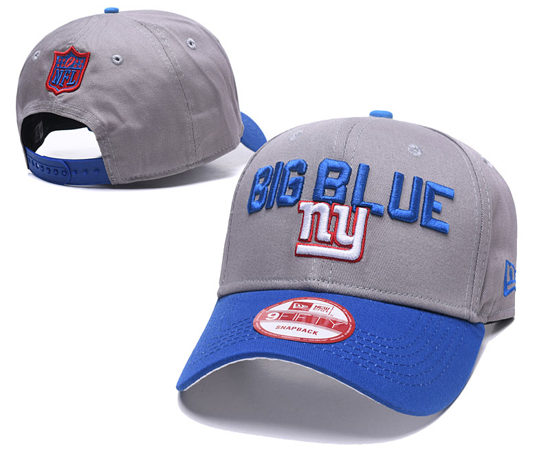 2018 NFL New York Giants Snapback hat GSMY0604