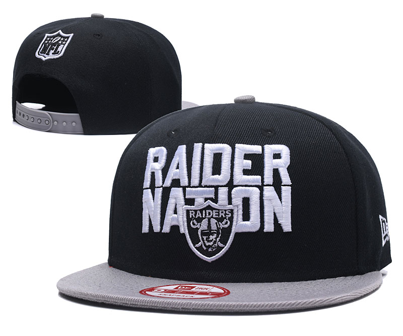 2018 NFL Oakland Raiders Snapback hat GSMY0604