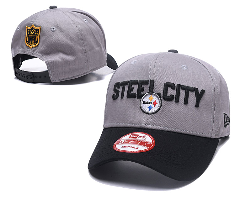 2018 NFL Pittsburgh Steelers Snapback hat GSMY06041
