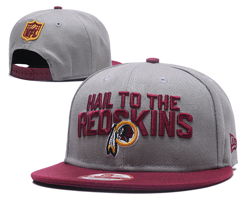 2018 NFL Washington Redskins Snapback hat GSMY0604
